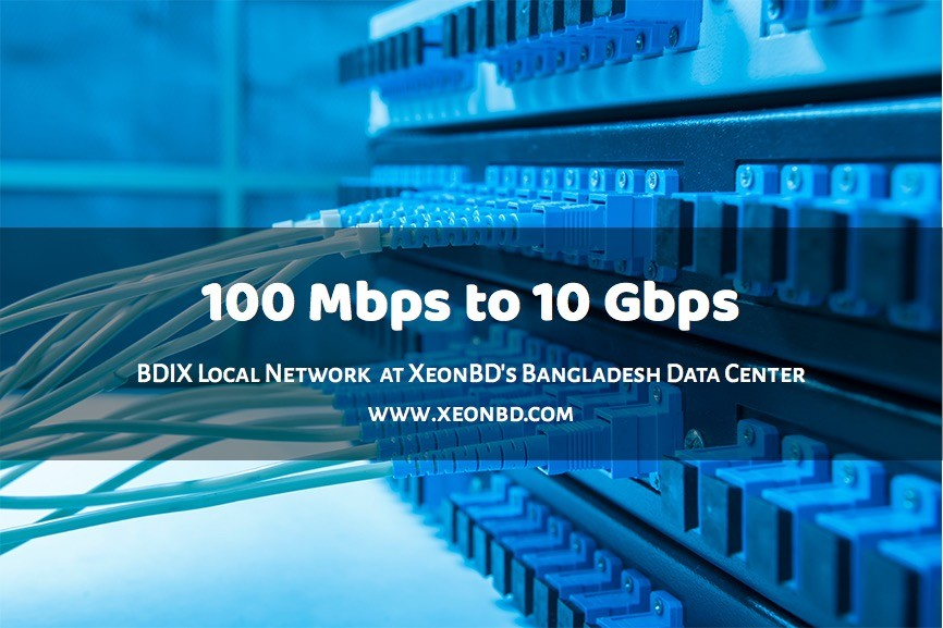 100 mbps to 10 gbps