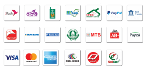 buy domain, hosting and server using bangladeshi credit card, debit card, mobile banking and internet banking